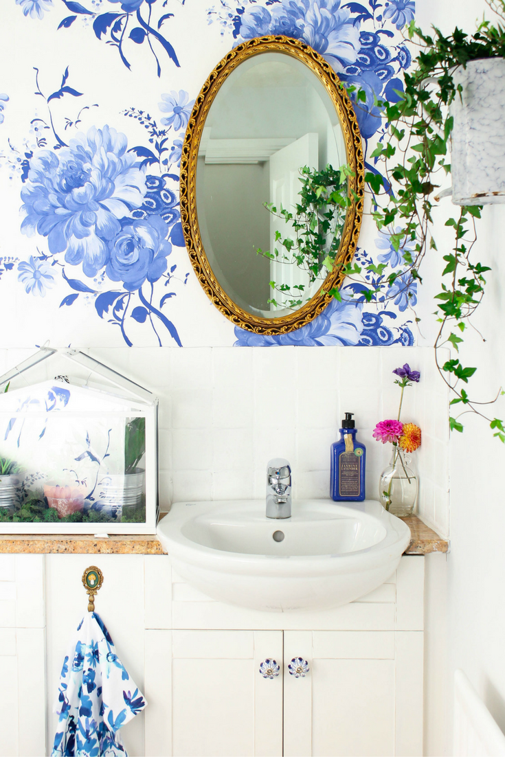 Before & After: How I did a £100 bathroom makeover... And in 2 days!!!