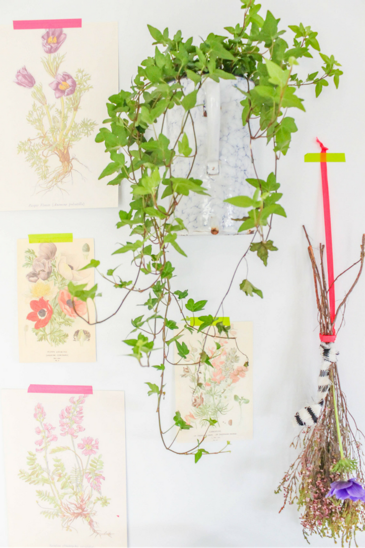 Great tips on how to decorate with botanical prints + gorgeous free botanical prints ready for you to print and give your home some soul!