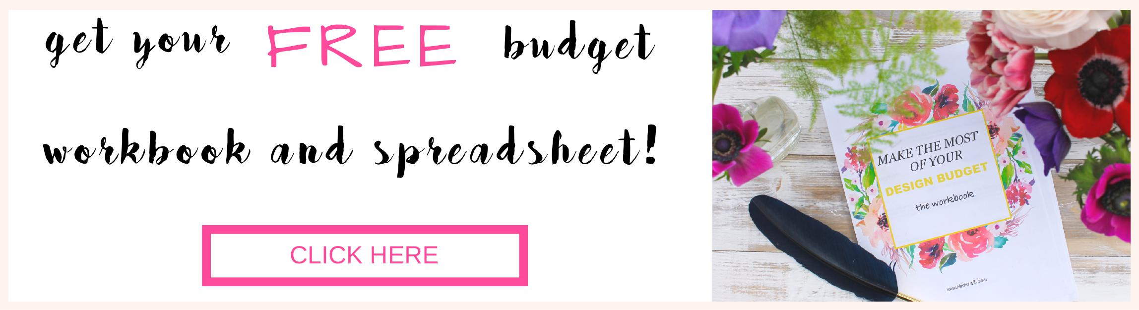 Make the most of your budget FREE worksheet.