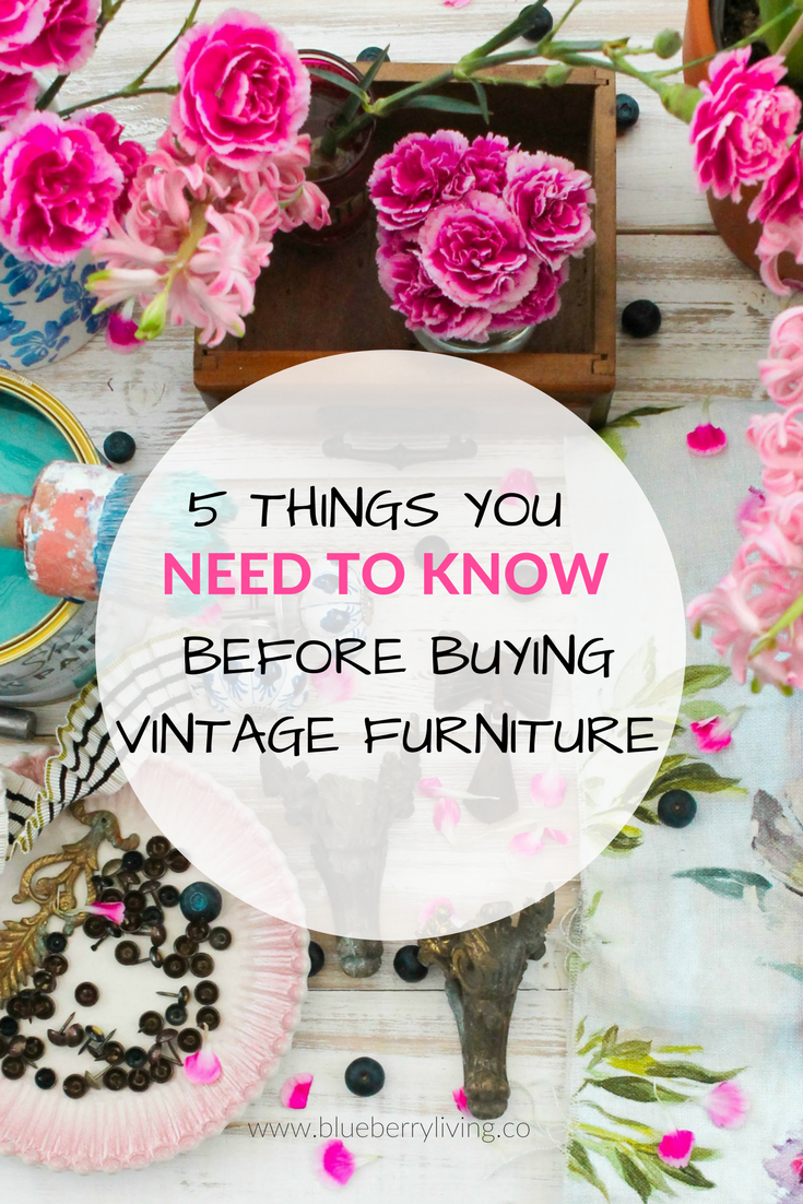 Ok, so you would love to buy some vintage pieces for your home, but you don't really know where to start? Check out this guide and get ready to rock the flea market!