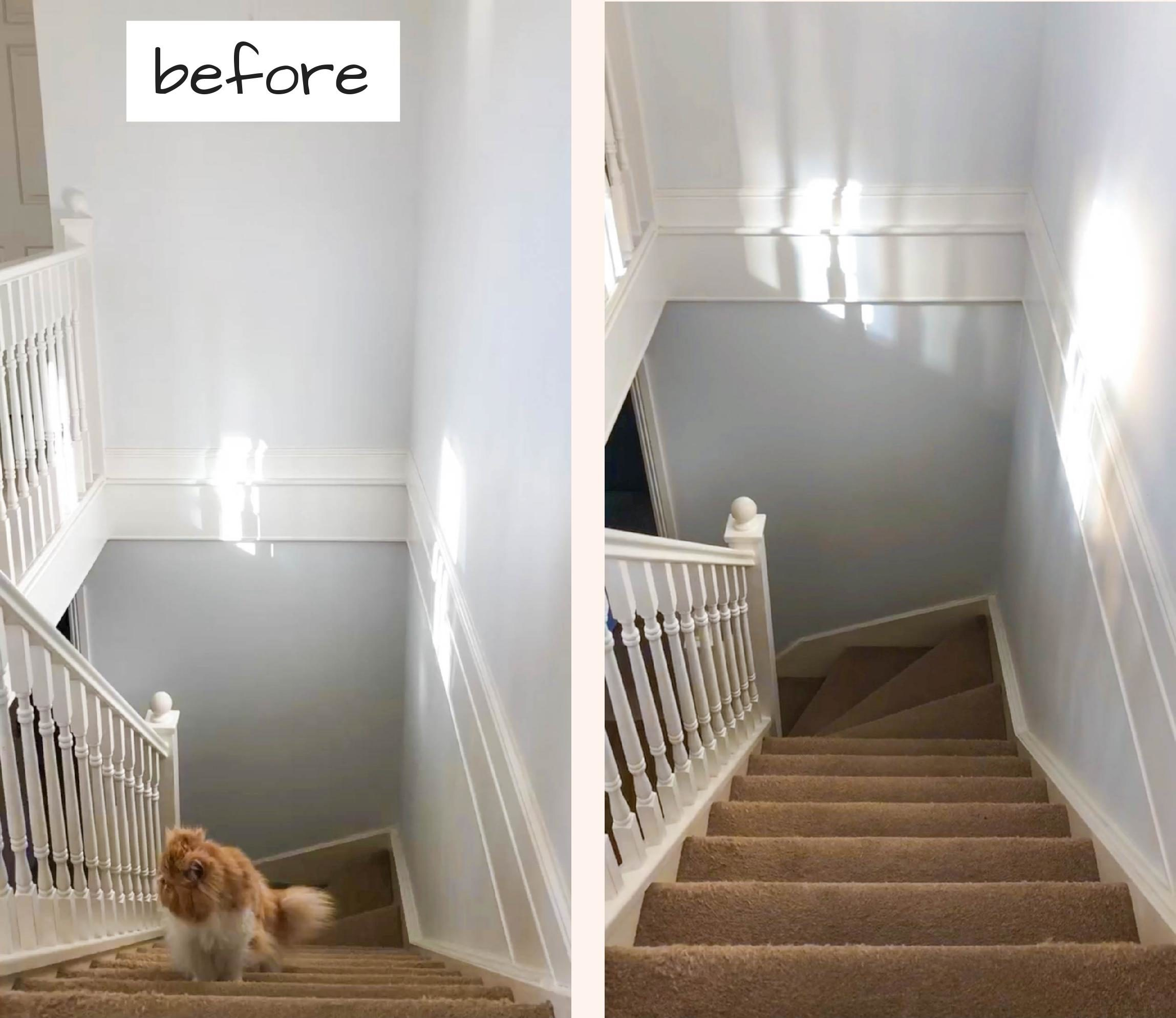 STAIRWAY MAKEOVER : THE ROOM REVEAL – Blueberry Living & Co